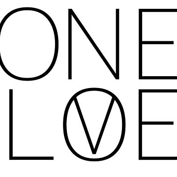 ONE LOVE VEGAN by TheBoro
