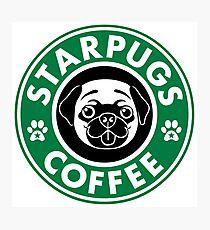 Lámina fotográfica Starpugs Coffee