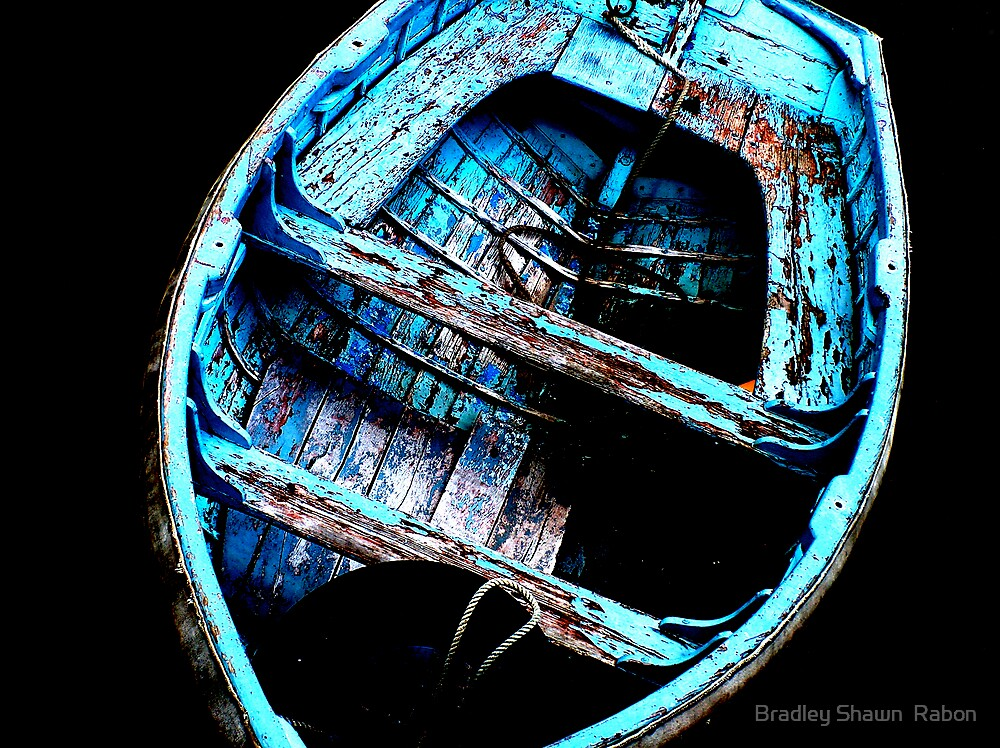"""""""Row Boat"""" by Bradley Shawn  Rabon"""