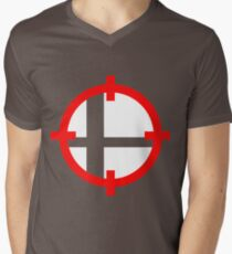 Smash Bros. Duck Hunt Mens V-Neck T-Shirt