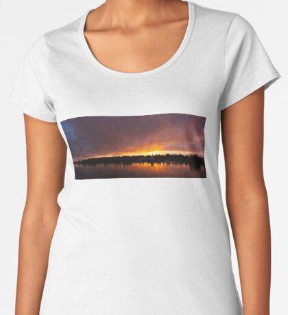Burning Women's Premium T-Shirt