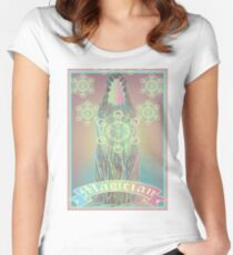 Tarot Card- The Magician Women's Fitted Scoop T-Shirt