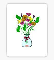 BE A WILDFLOWER  Sticker