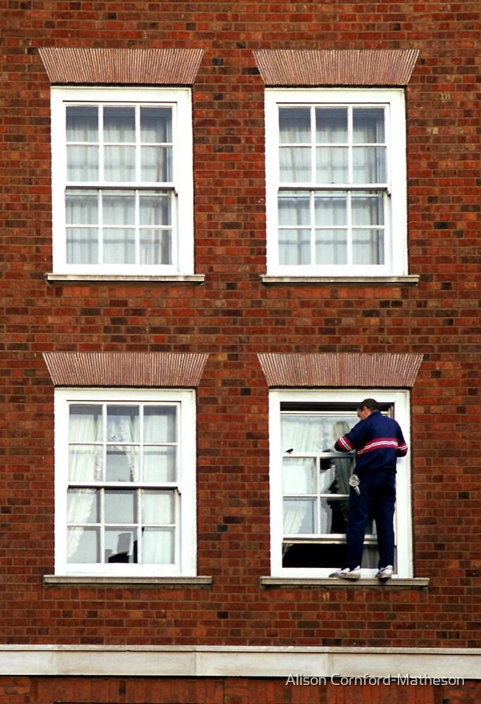 Window Washer by Alison Cornford-Matheson
