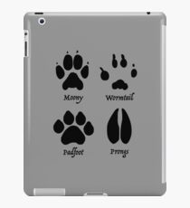 Moony, Wormtail, Padfoot, and Prongs iPad Case/Skin
