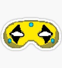 Pixel Party Poison Mask Sticker