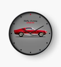 The Shelby Mustang GT500 KR Clock
