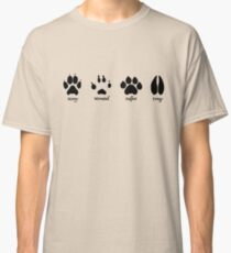 Moony, Wormtail, Padfoot, and Prongs Classic T-Shirt