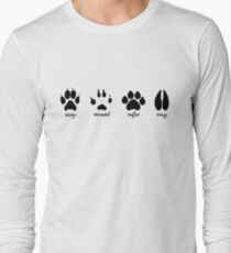 Moony, Wormtail, Padfoot, and Prongs Long Sleeve T-Shirt