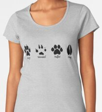 Moony, Wormtail, Padfoot, and Prongs Women's Premium T-Shirt