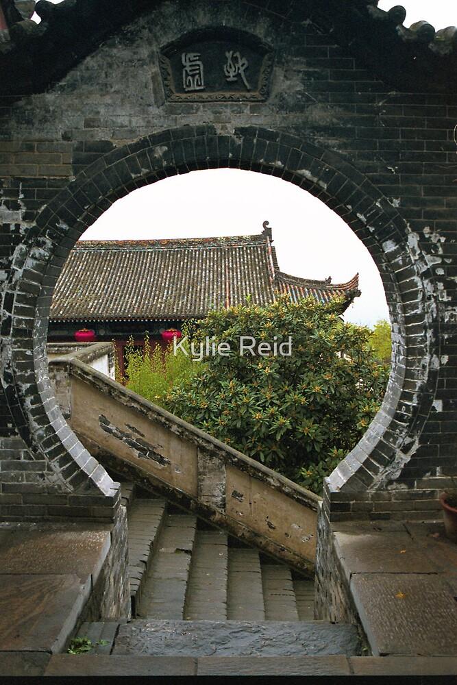 Temple Emei Shan China by Kylie Reid