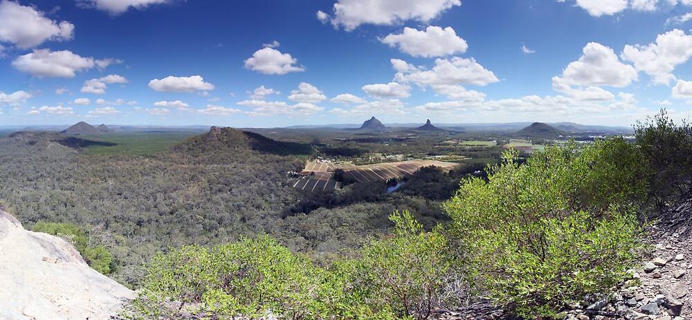 Mt. Tibrogargan lookout by David James