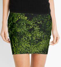 Small leaves.  Mini Skirt