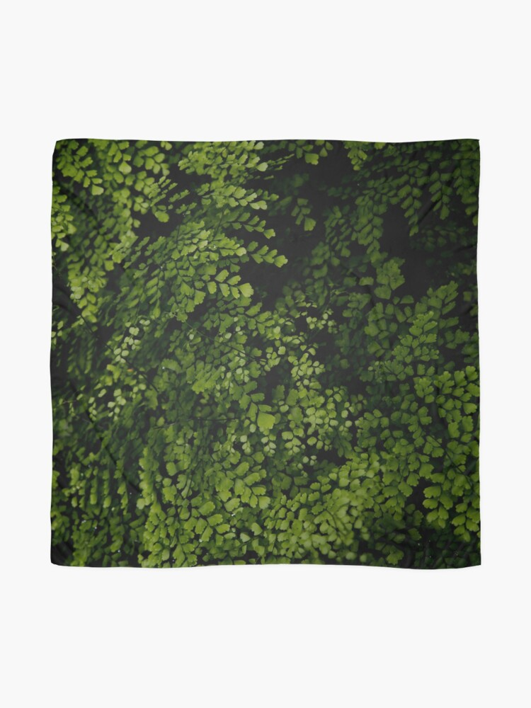 Alternate view of Small leaves.  Scarf