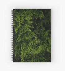 Small leaves.  Spiral Notebook