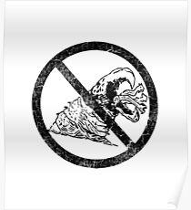 No Graboids!  (Tremors) Poster