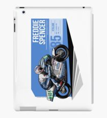 Freddie Spencer - 1985 Kyalami iPad Case/Skin