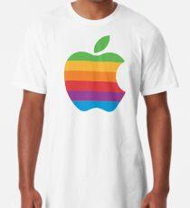 Rainbow Apple Logo Long T-Shirt