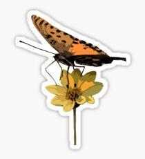 Monarch Sticker