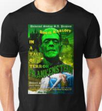 Frankenstein Retro Style T-Shirt