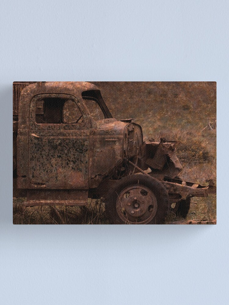 Alternate view of Rust and Rain Canvas Print