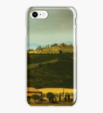 Villas Val D'orcia Tuscany iPhone Case/Skin