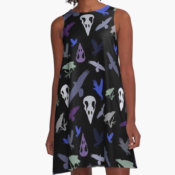 Raven halloween A-Line Dress