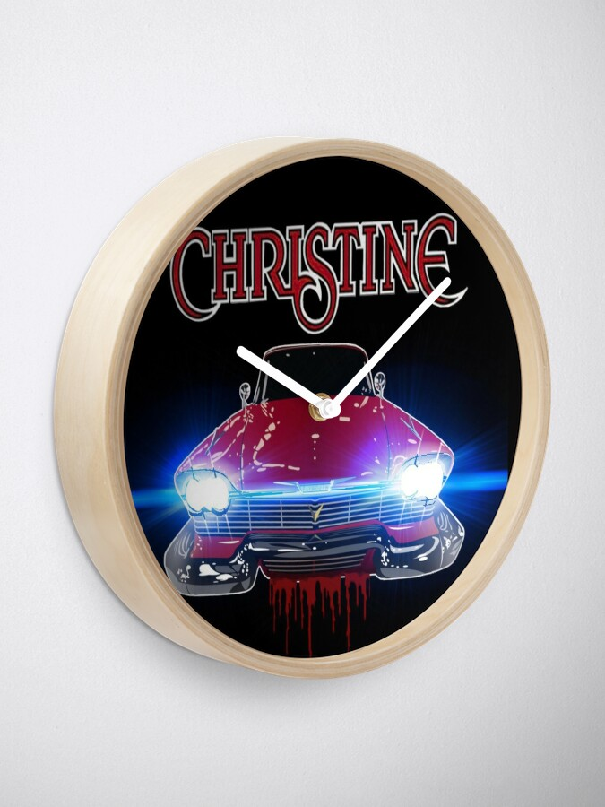 Alternate view of Christine Road Rage Clock
