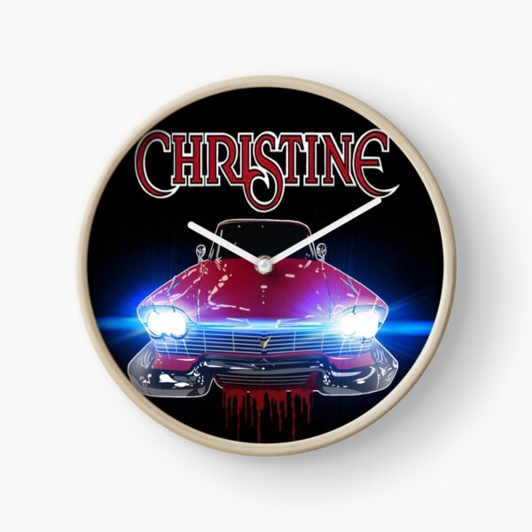 Christine Road Rage Clock
