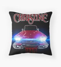 Christine Road Rage Throw Pillow