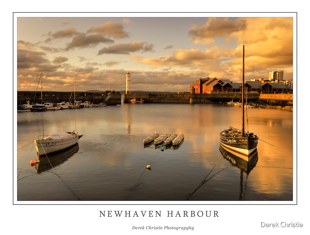 Newhaven Harbour by Derek Christie