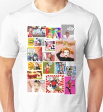 Kylie Minogue Goes Pow Wow K30  Unisex T-Shirt