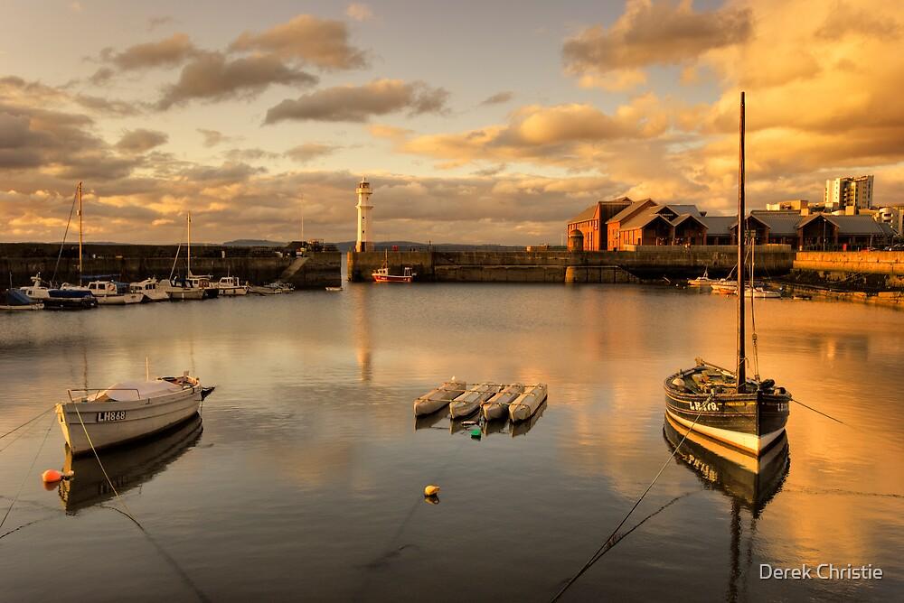 Newhaven Harbour (No Border) by Derek Christie