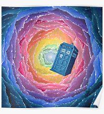 Kaleidoscope TARDIS Poster