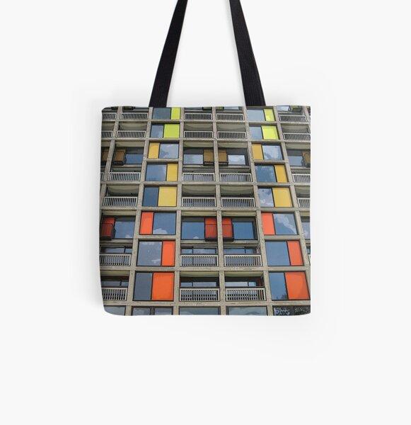 Park Hill - Urban Splashed All Over Print Tote Bag