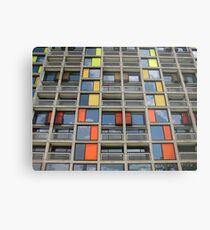 Park Hill - Urban Splashed Metal Print
