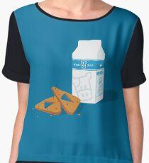 Milk & Triforce Cookies Women's Chiffon Top