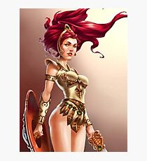 Teela Epic Warrior Photographic Print