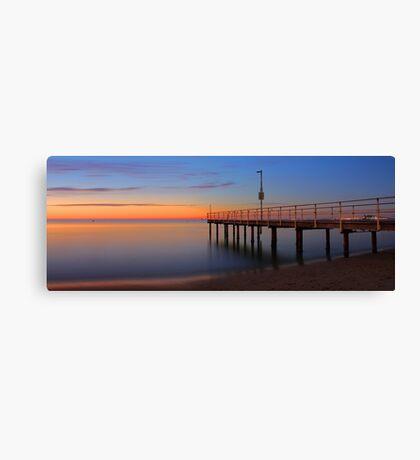 Esplanade Jetty - Rockingham Western Australia  Canvas Print