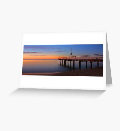 Esplanade Jetty - Rockingham Western Australia  Greeting Card