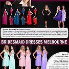 Bridesmaid Dresses Sydney by FormalDresses