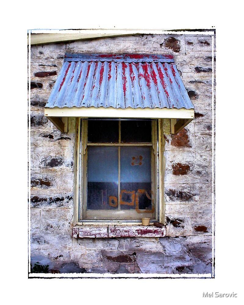 View through a window by Mel Sarovic