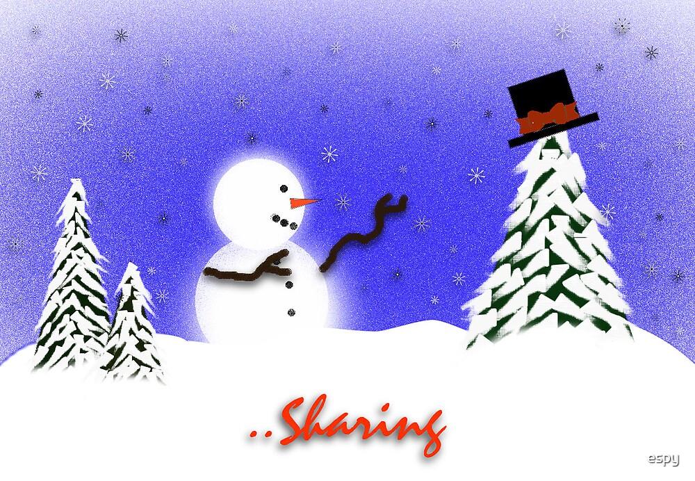 Christmas Sharing by espy