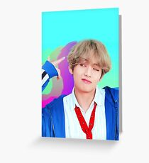 Taehyung BTS Greeting Card