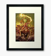 Snake Queen Framed Print
