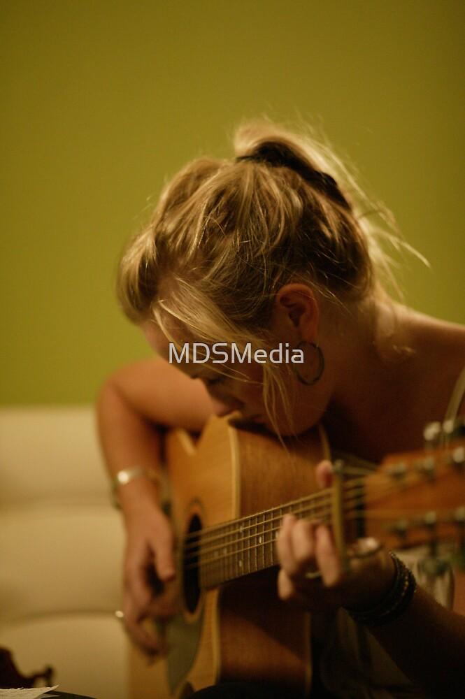 Girl n a Guitar... by MDSMedia