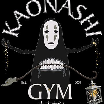 Kaonashi Gym by DarkChoocoolat