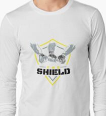 The Shield Yellow Logo with black letters T-Shirt