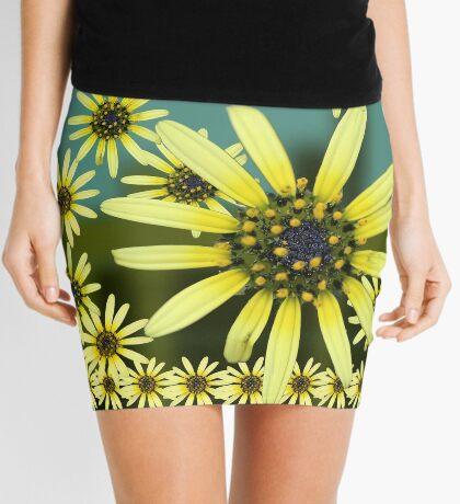 Yellow Daisy Mini Skirt