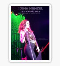 Idina Menzel 2017 World Tour Sticker